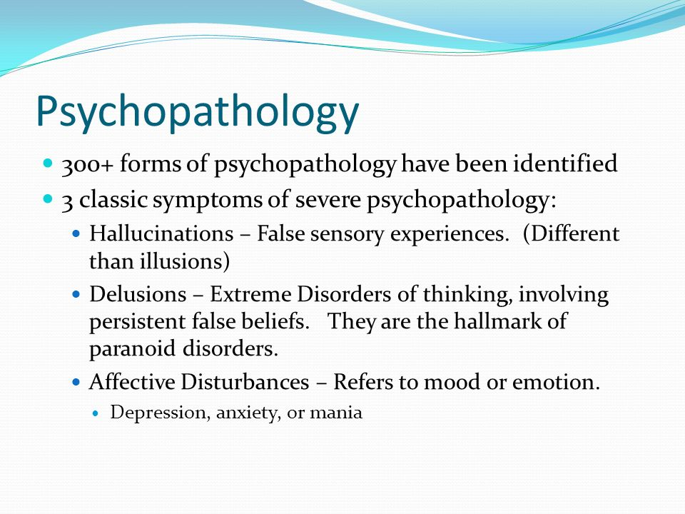 Abnormal Psychology Ppt Download