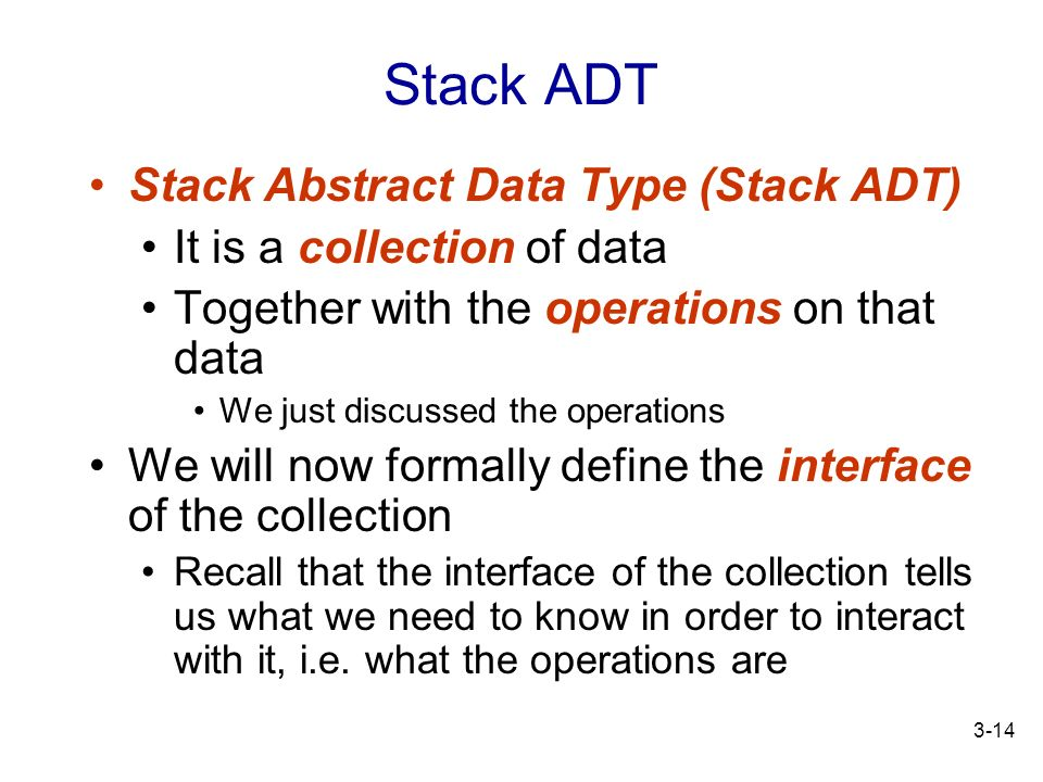 Topic 3 The Stack ADT. - ppt download
