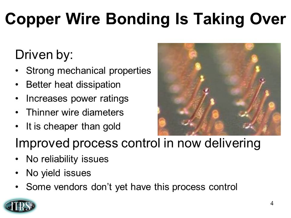 Copper Wire Bonding Is Taking Over