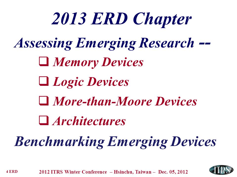 Assessing Emerging Research --