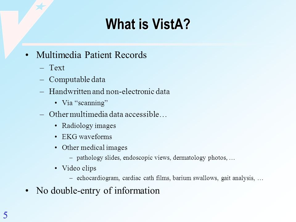 What is VistA Multimedia Patient Records