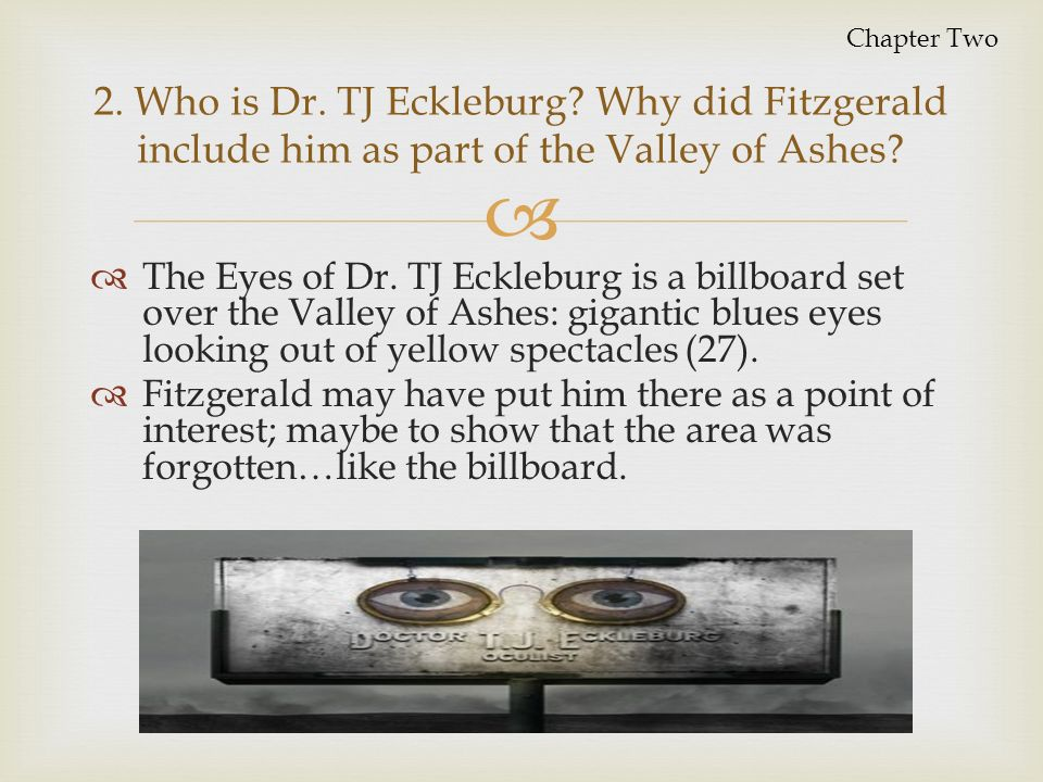 All About What Are The Eyes Of Dr Tj Eckleburg In The Great Gatsby