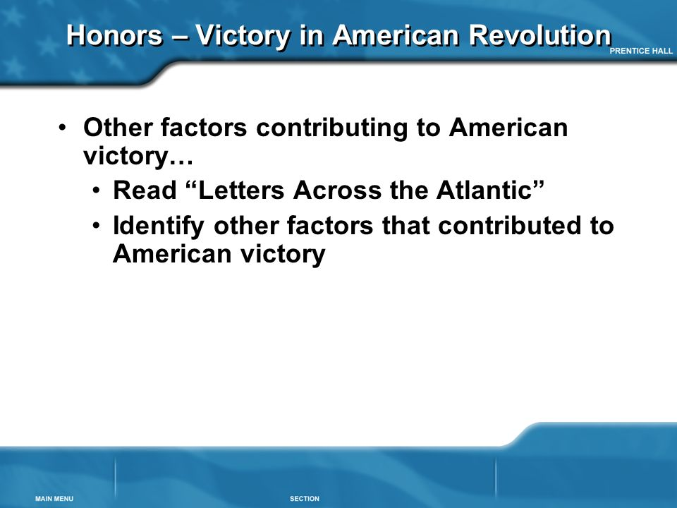 what factors contributed to the american revolution
