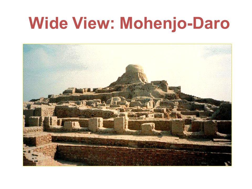 Wide View: Mohenjo-Daro