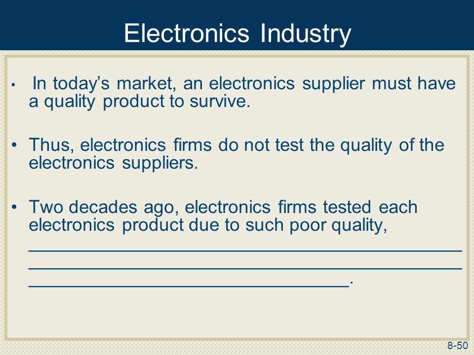 Supplier Selection and Evaluation - ppt download