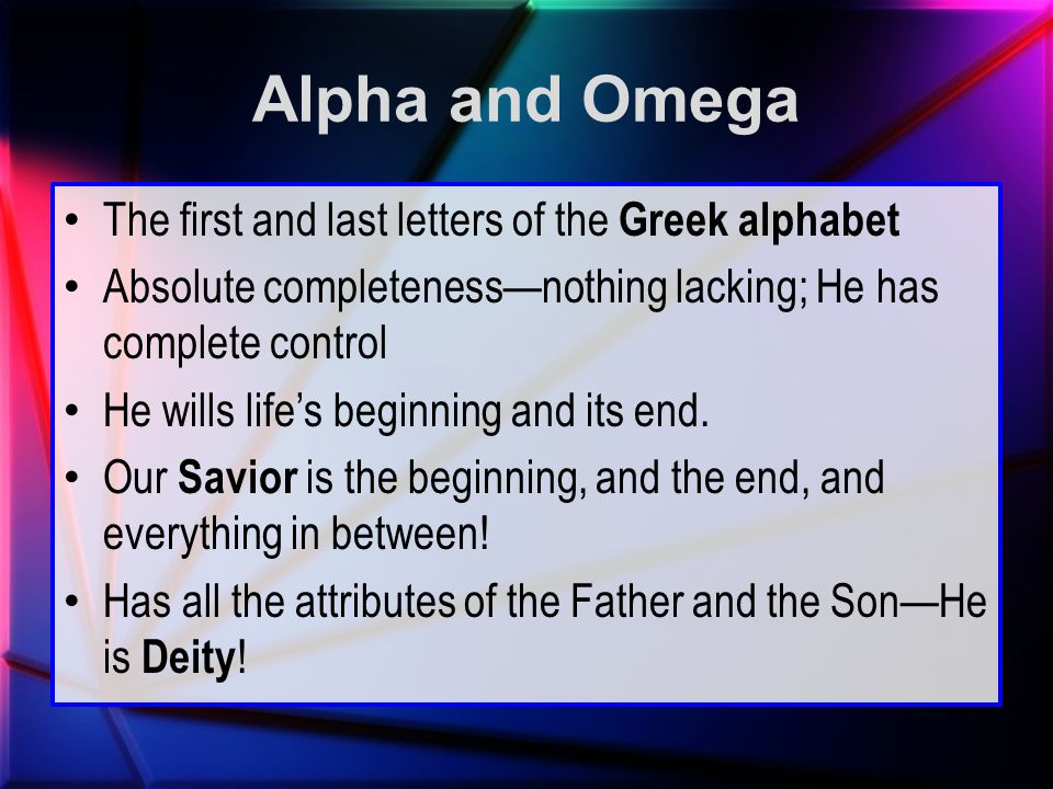 last greek letter study of the book of revelation ppt 22699 | Alpha and Omega The first and last letters of the Greek alphabet