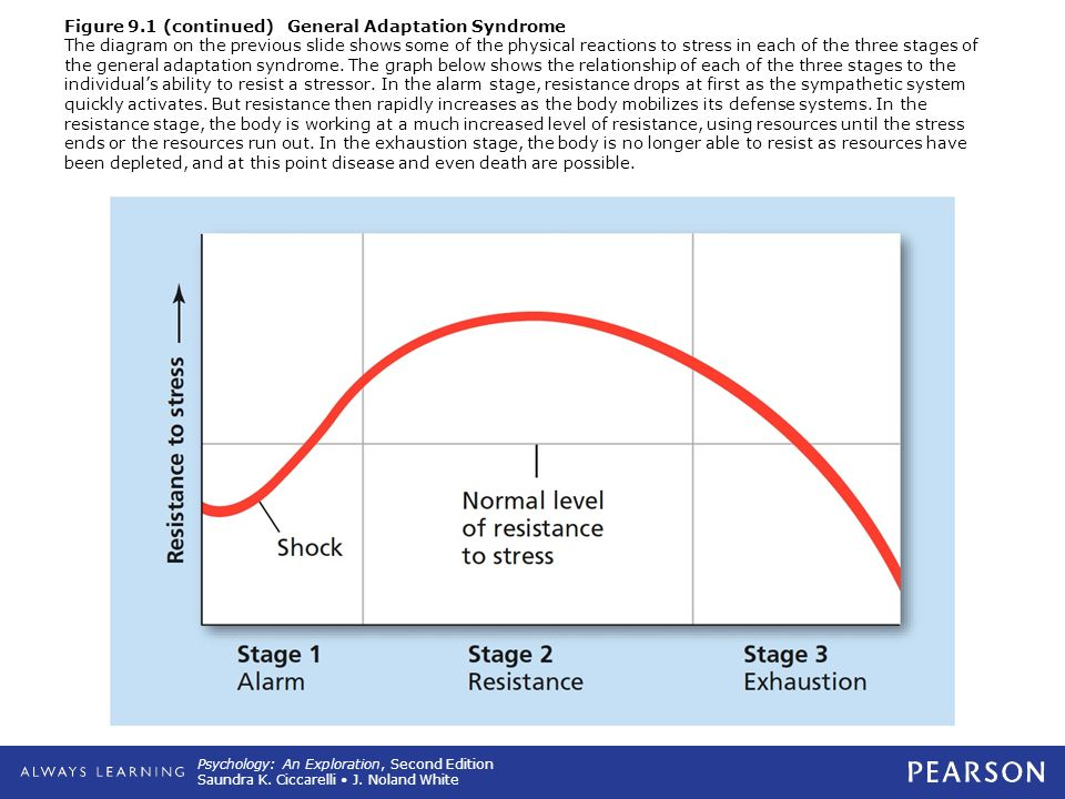 the first stage of general adaptation syndrome is
