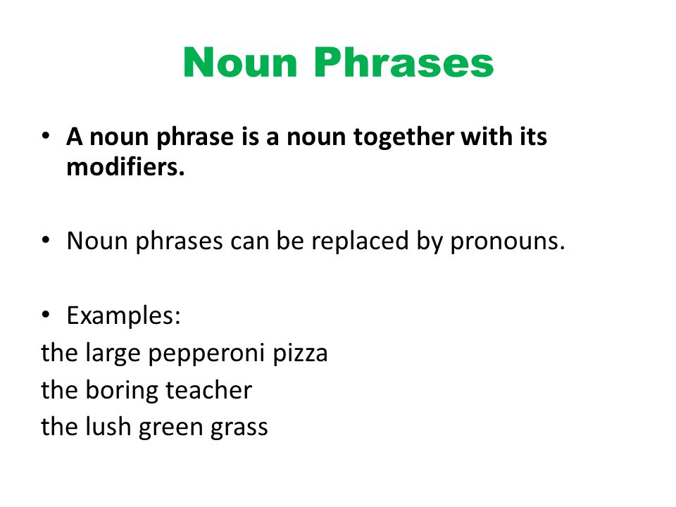 Noun Phrase Examples Choice Image Example Cover Letter For Resume