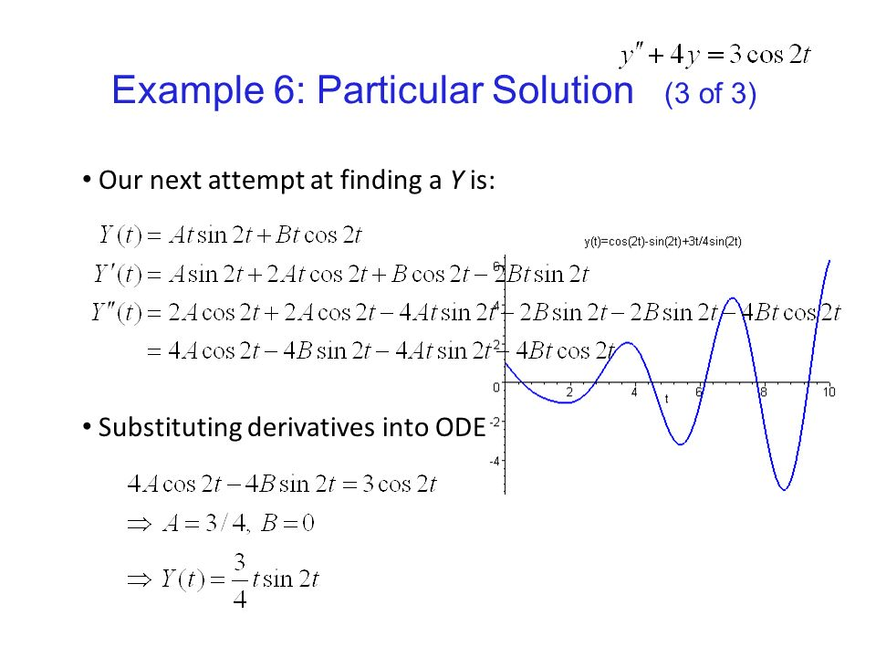 Math 3120 Differential Equations with Boundary Value