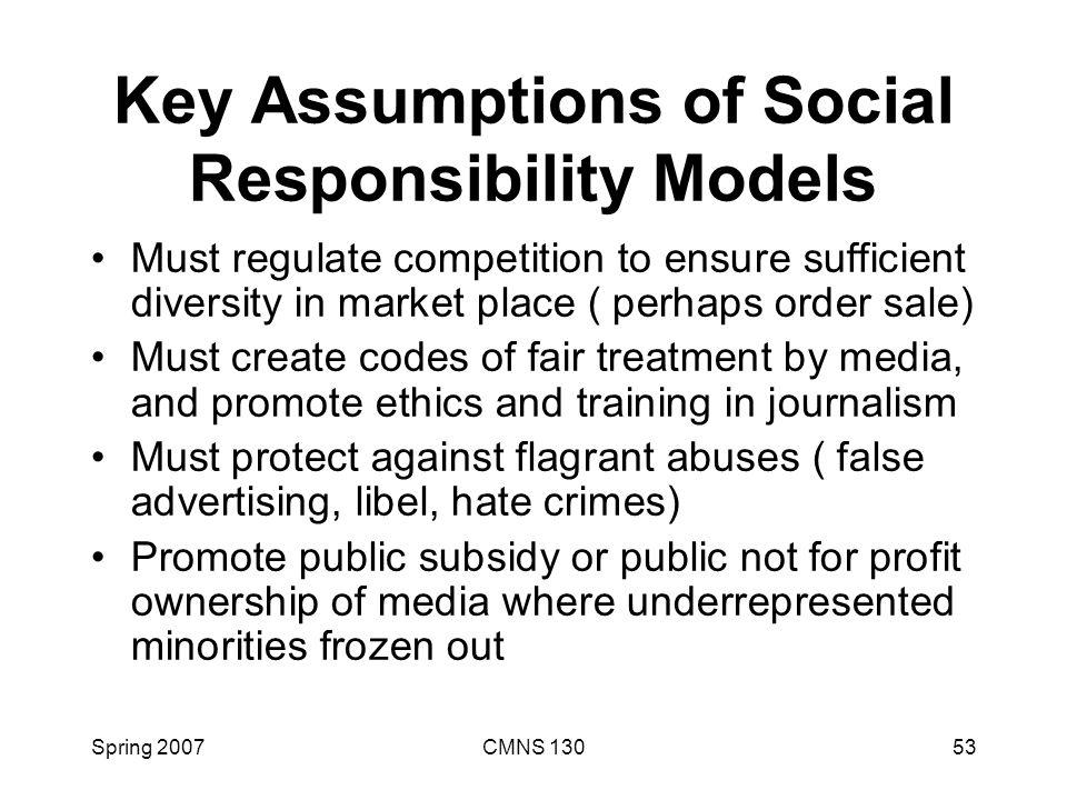 social responsibility of press