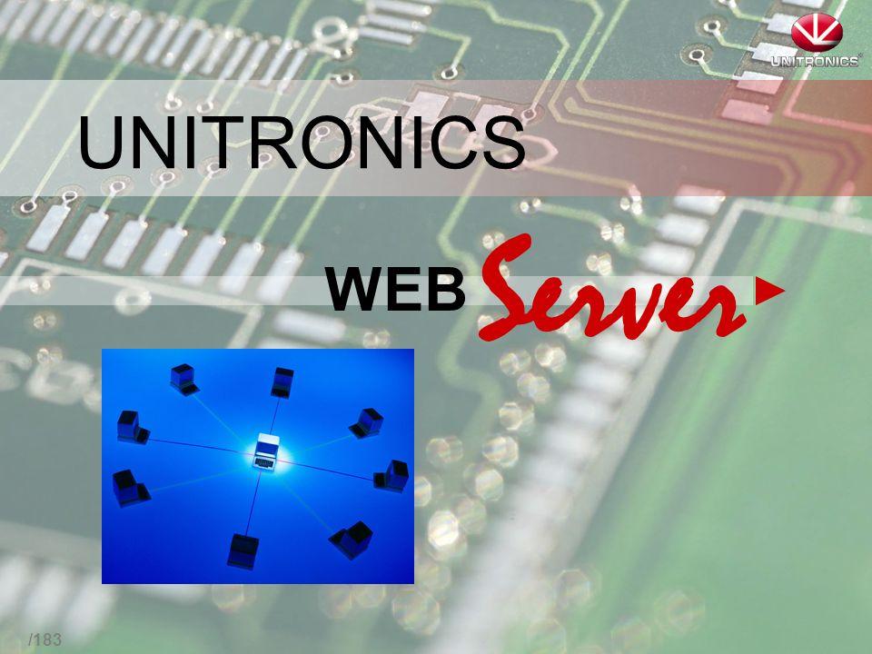 UNITRONICS Server WEB Send  - ppt video online download