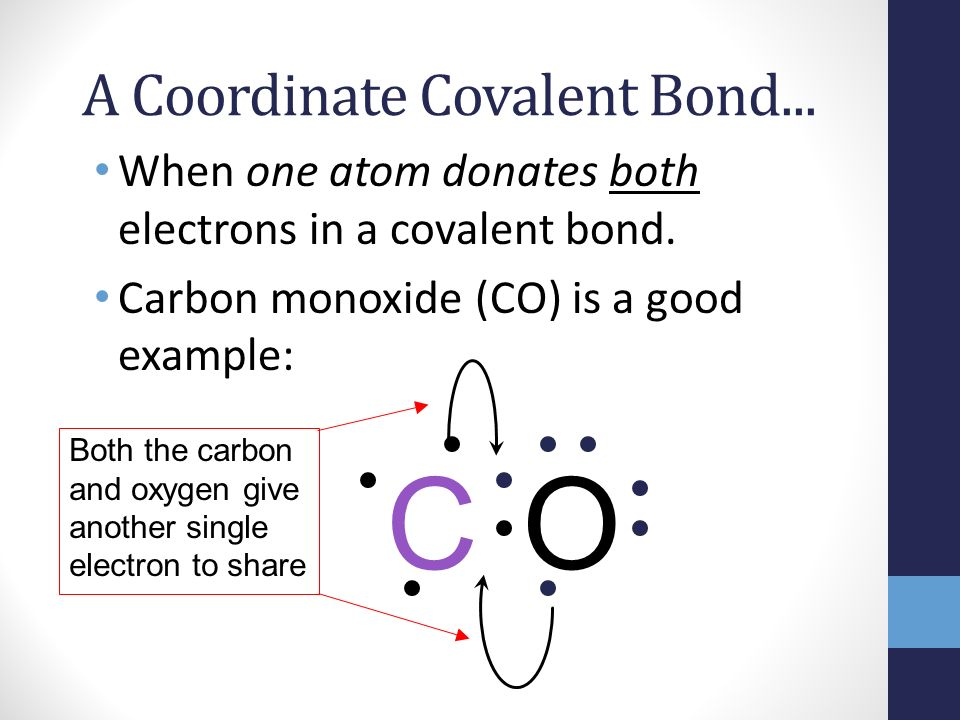 Example Of Coordinate Covalent Bond Gallery Example Cover Letter