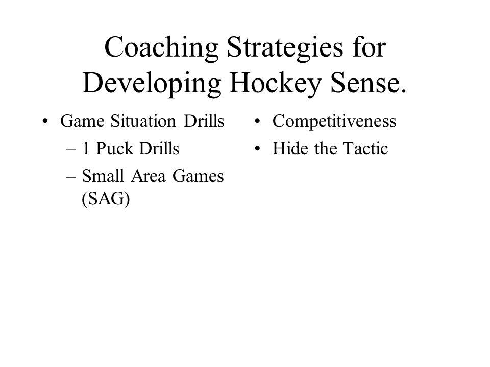 Teaching Hockey Sense By Ken Martel Ppt Download