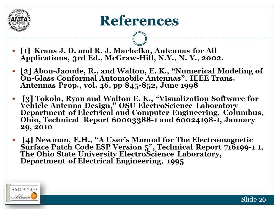Multi-Parametric Antenna Test Visualization for Optimization Session ...