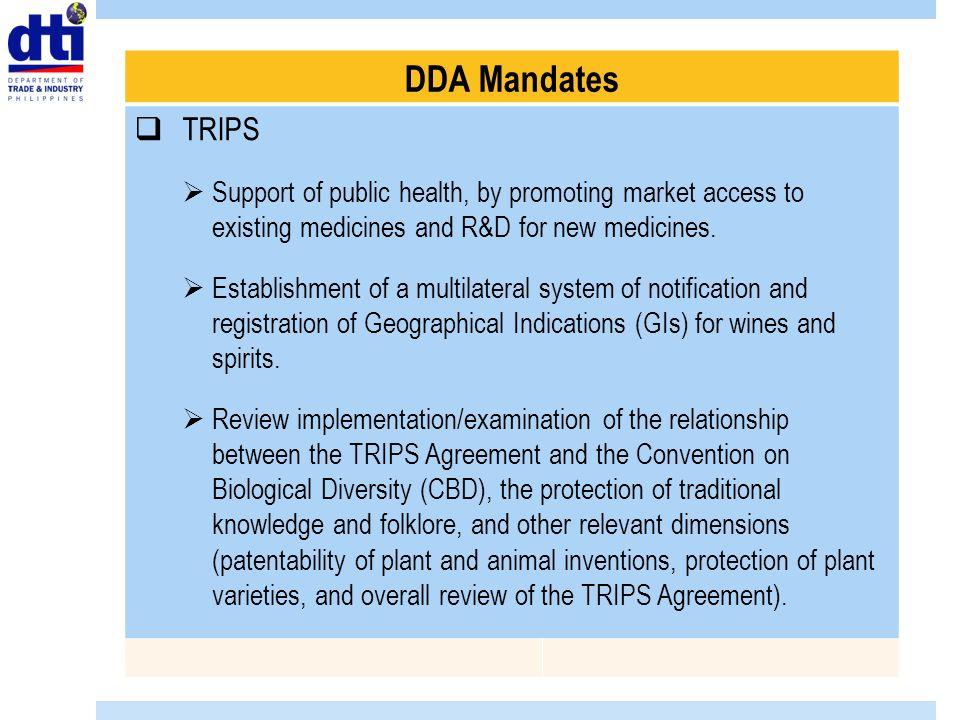 The Doha Development Agenda Dda One Country One Voice Ppt