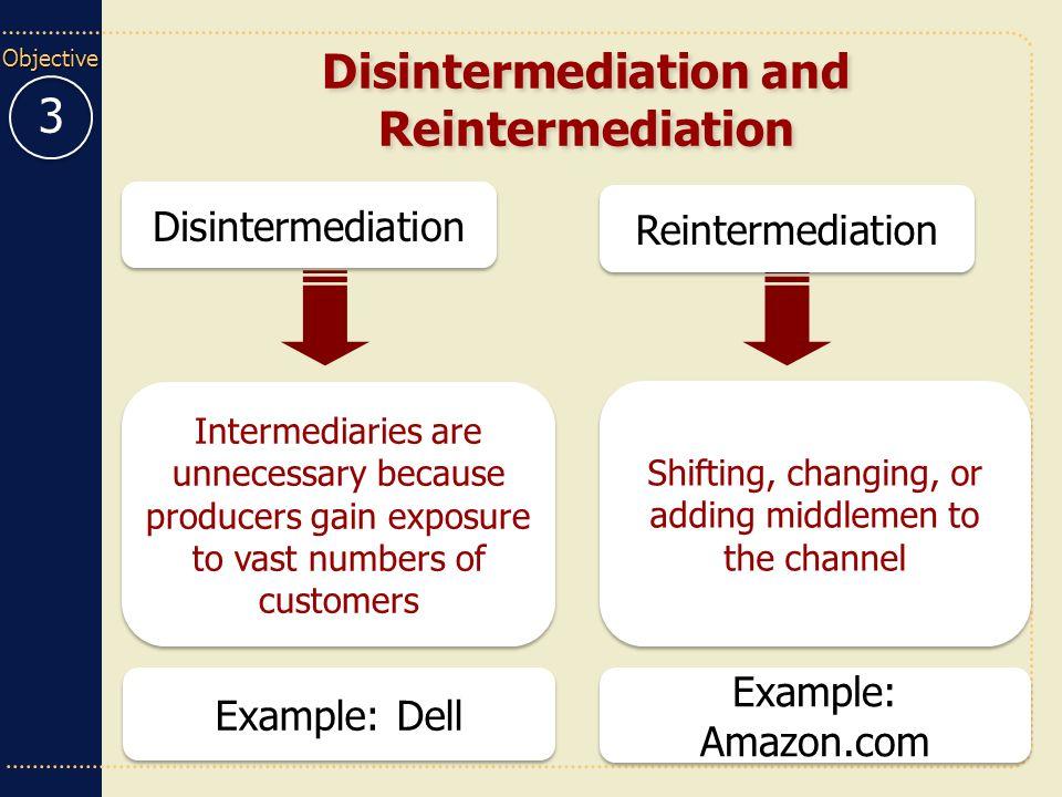 Disintermediation, reintermediation and cybermediation — jamie parfitt.