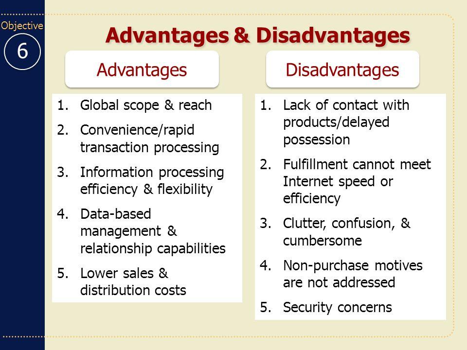 5 advantages and disadvantages of internet