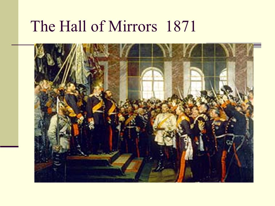 The Hall of Mirrors 1871