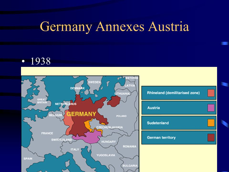 Germany Annexes Austria