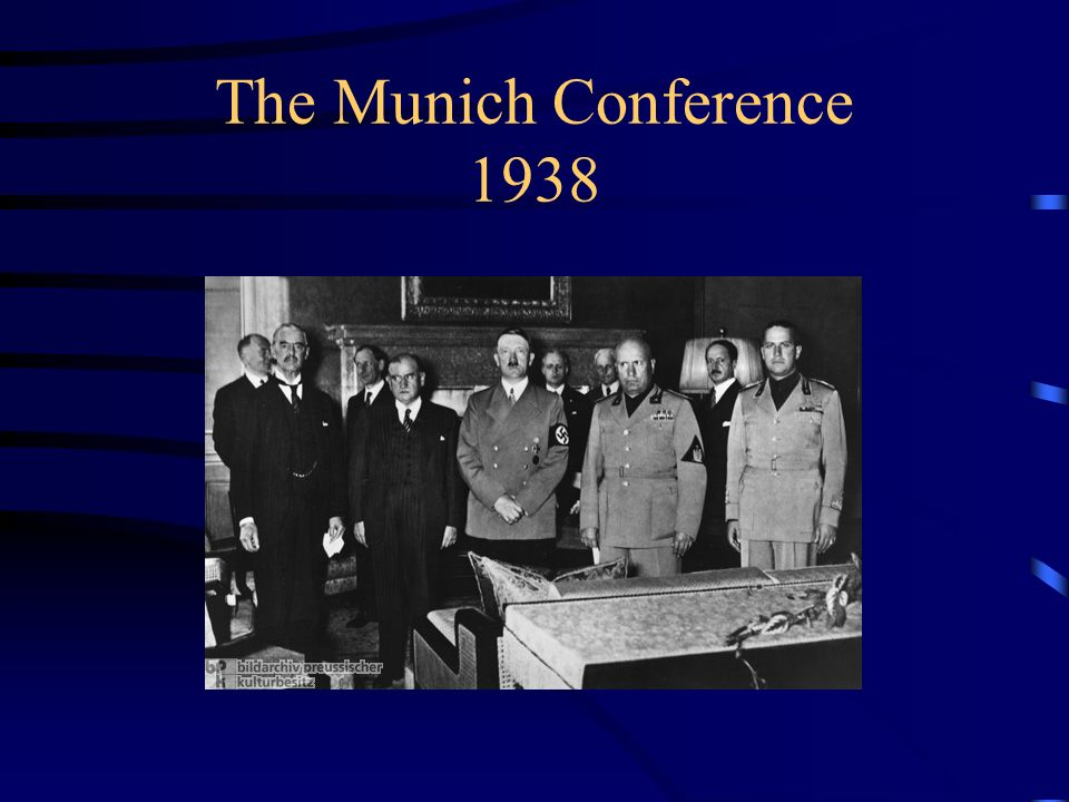 The Munich Conference 1938