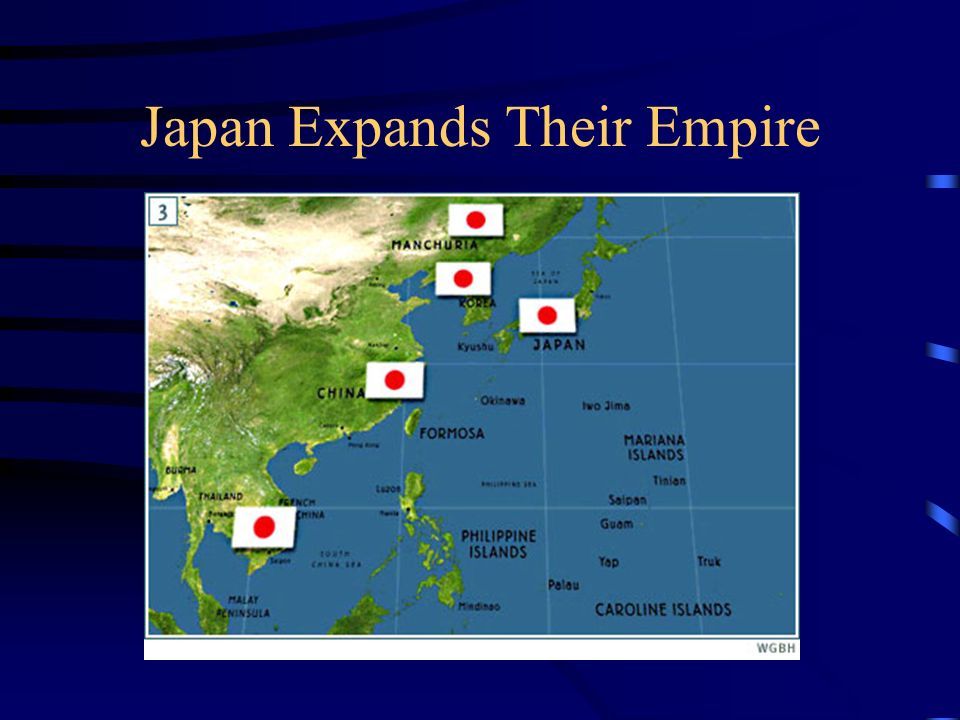 Japan Expands Their Empire