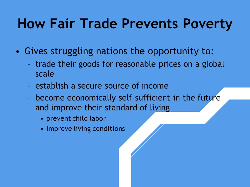 How Fair Trade Prevents Poverty