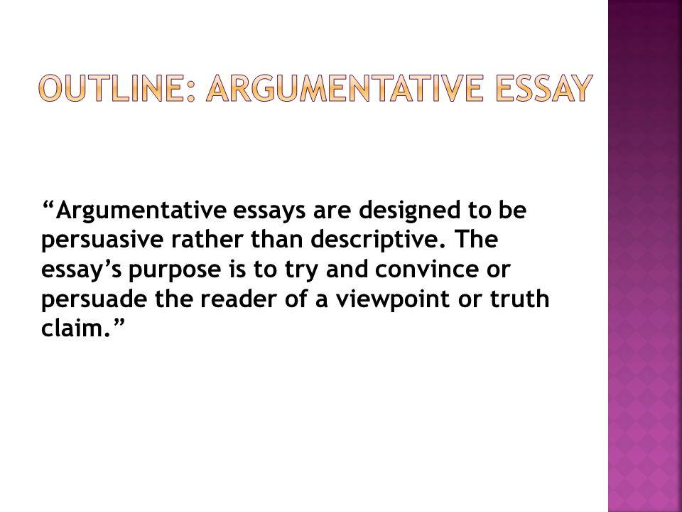 argumentative essay choo choo thesis statement   ppt download outline argumentative essay