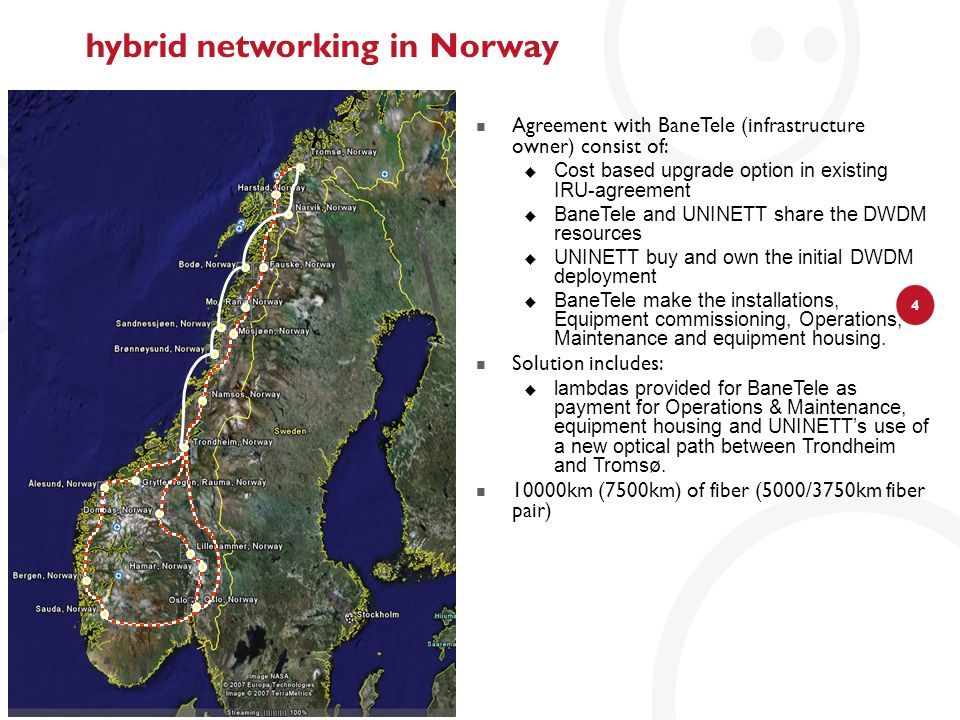 hybrid networking in Norway