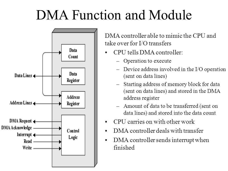 DMA Function and Module