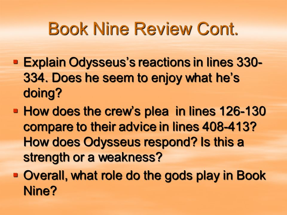 odysseus weaknesses