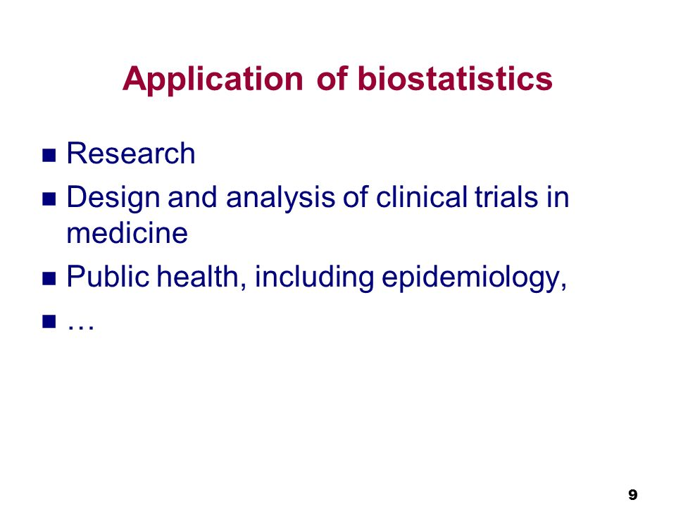 What is biostatisics? Basic statistical concepts - ppt download