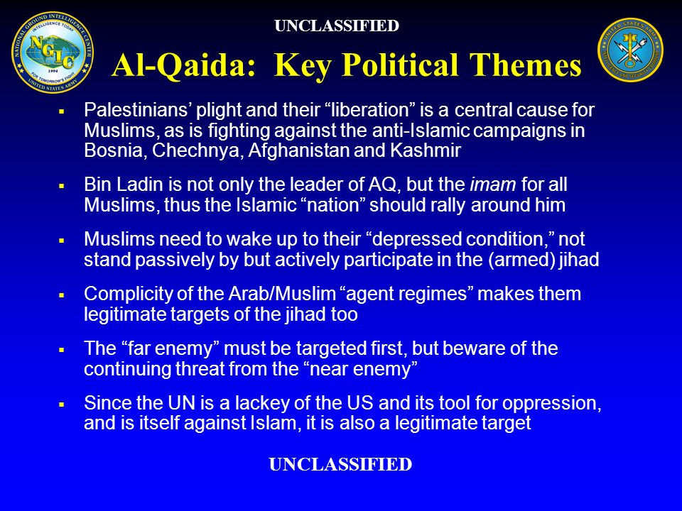 Al-Qaida: Key Political Themes