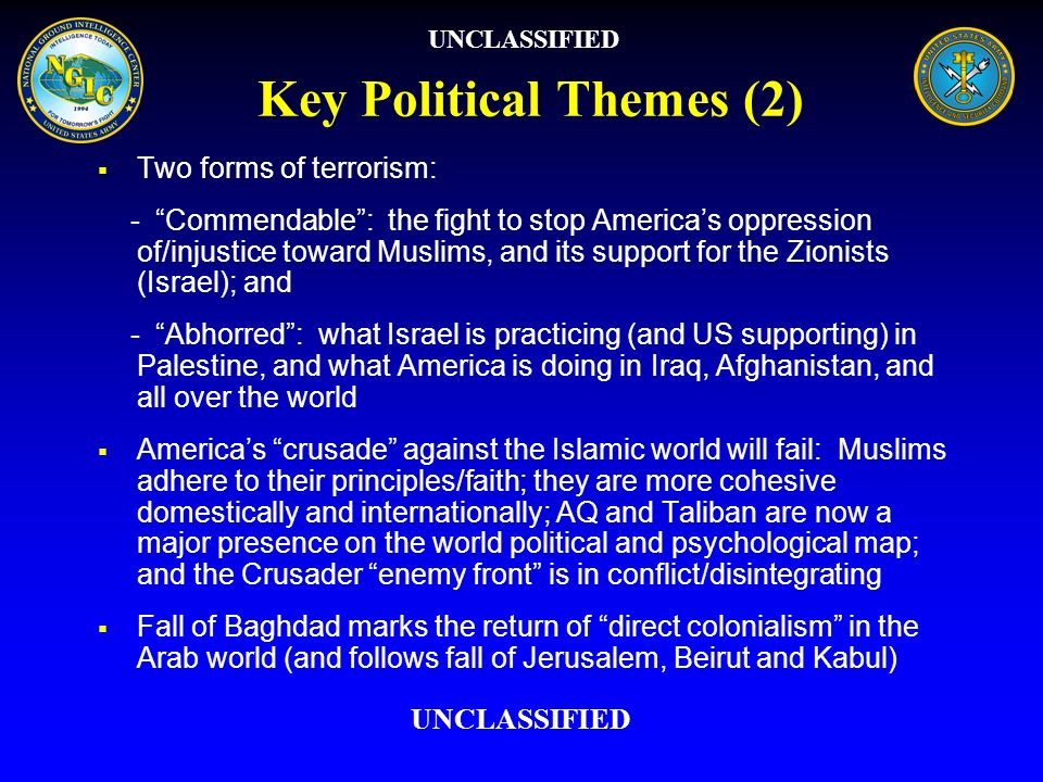 Key Political Themes (2)
