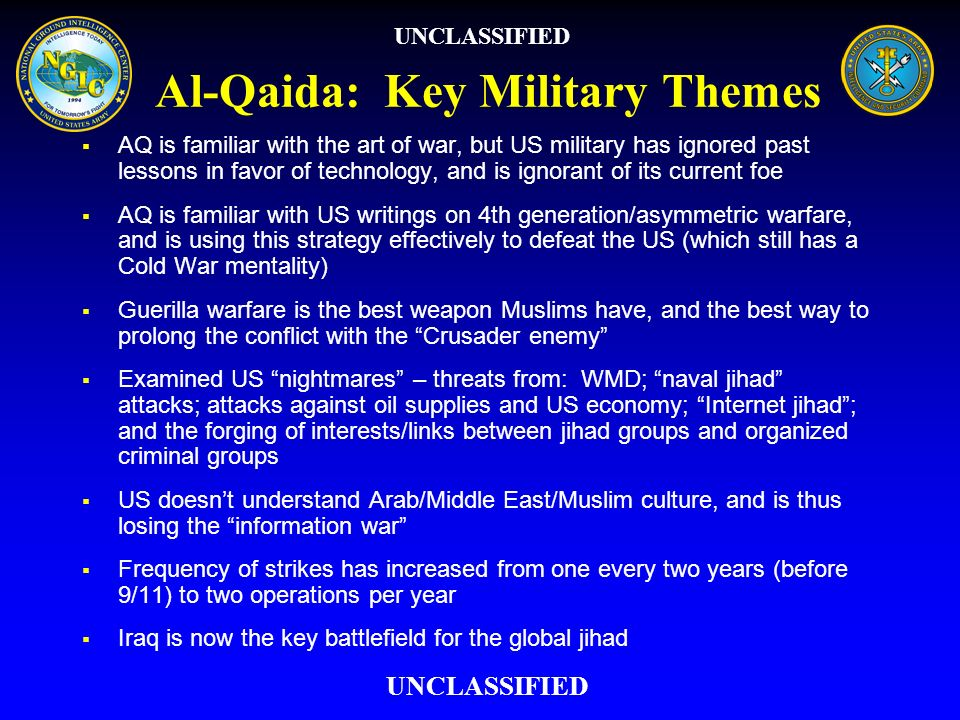 Al-Qaida: Key Military Themes