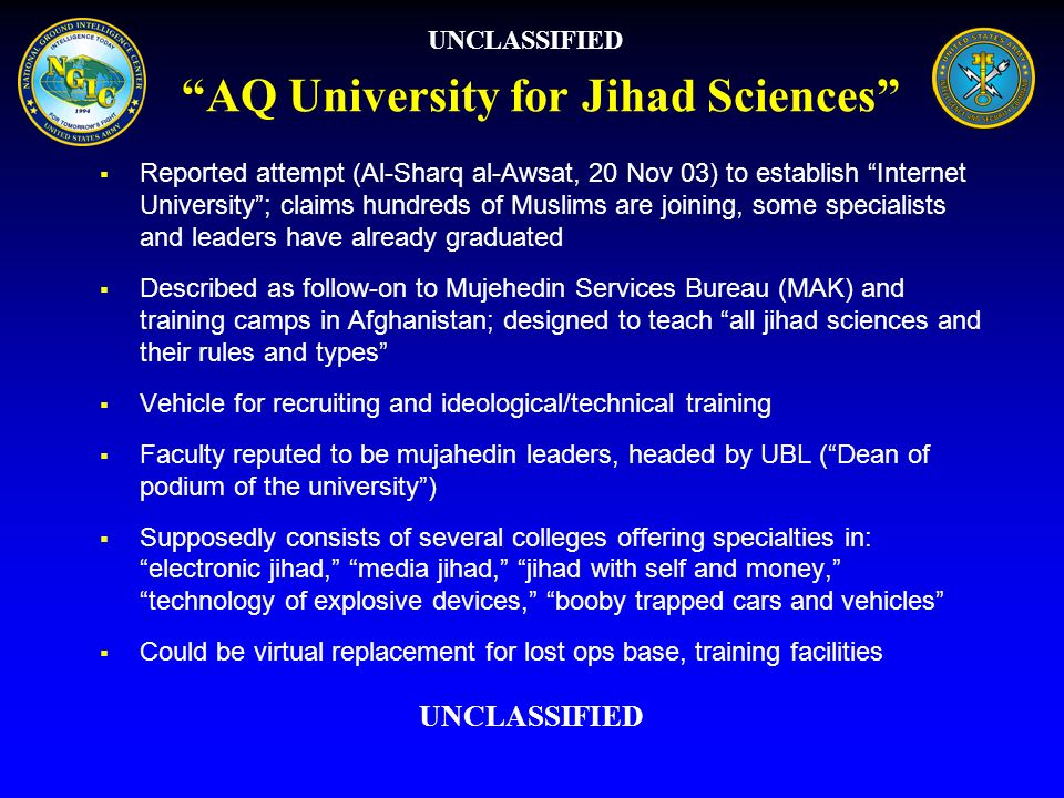 AQ University for Jihad Sciences