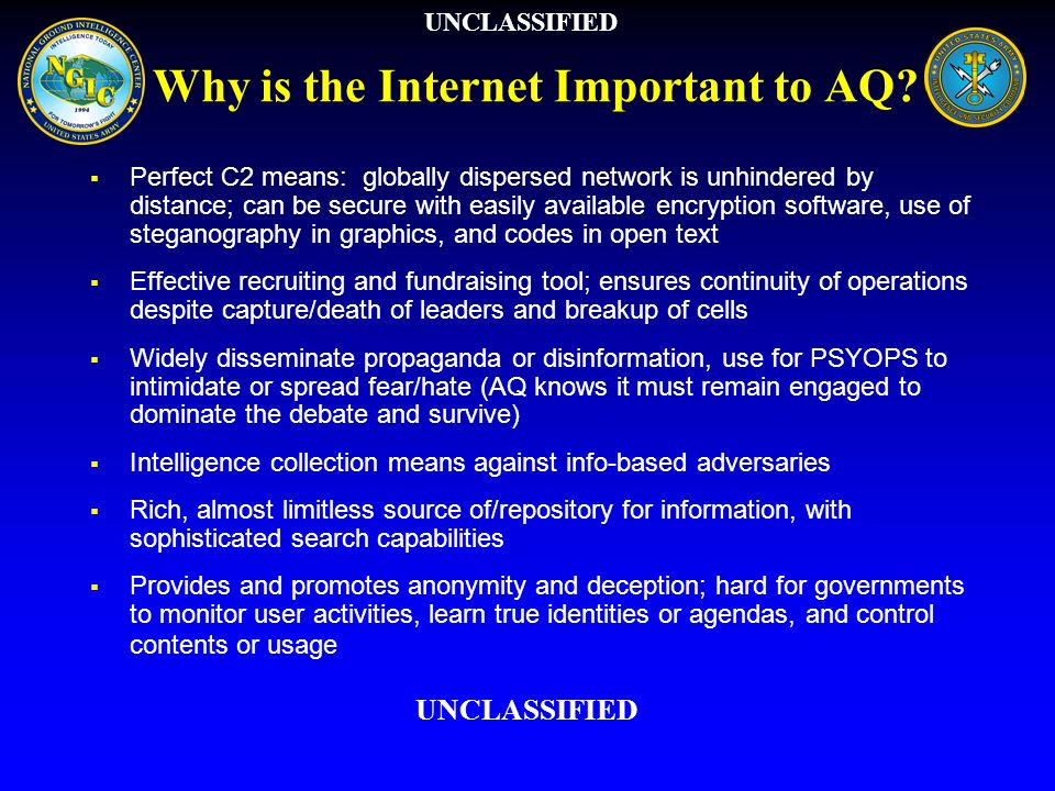 Why is the Internet Important to AQ