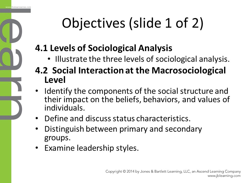Chapter 4: Society, Social Structure, and Social Interaction - ppt