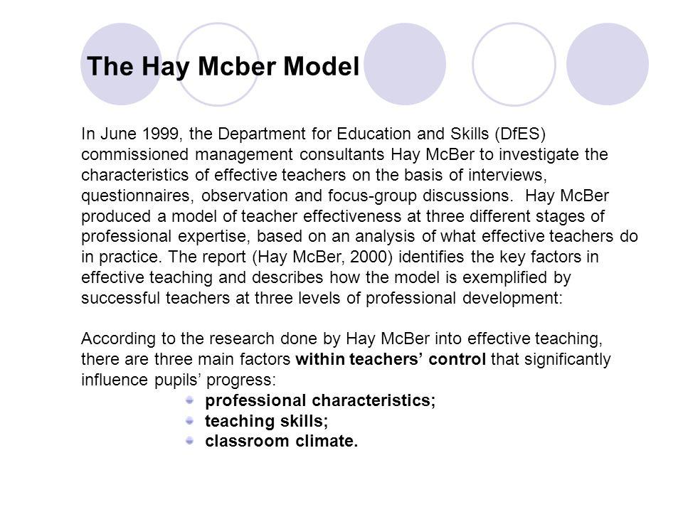 25 The Hay Mcber Model