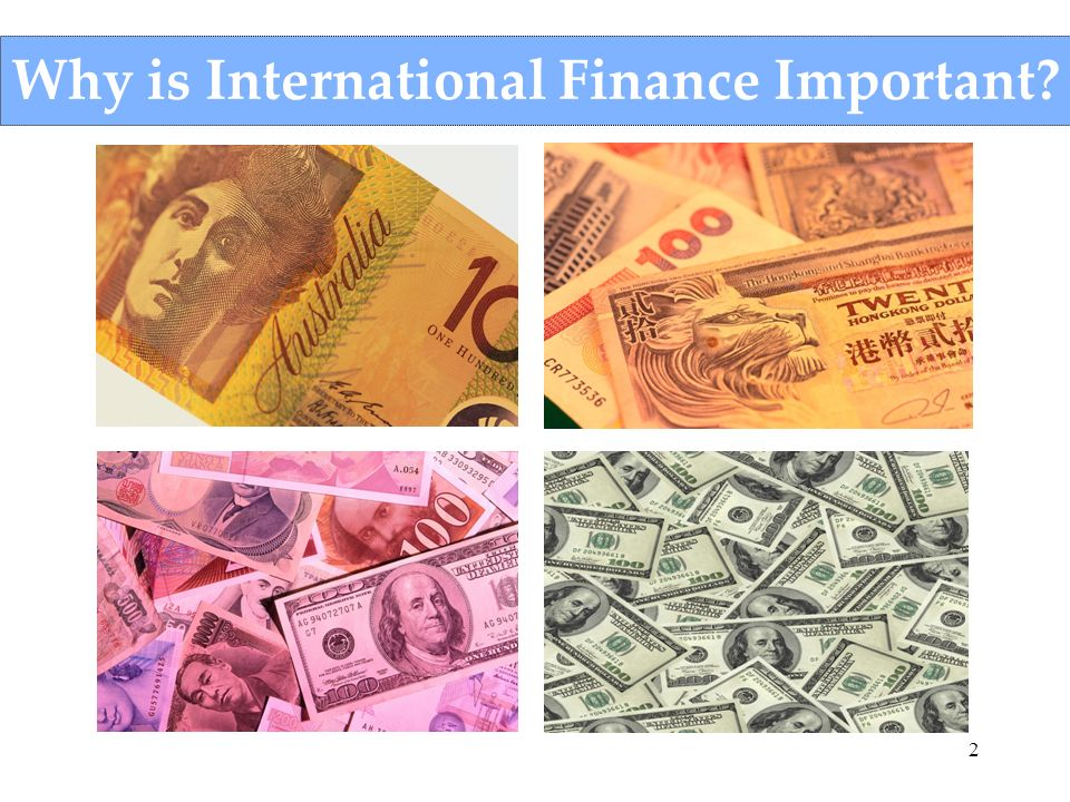 Why is International Finance Important