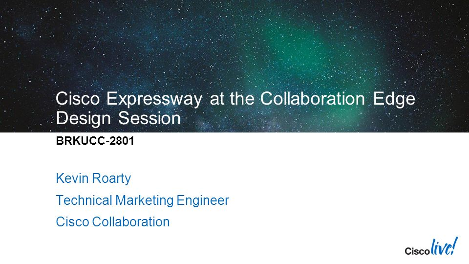 4/22/2017 Cisco Live ppt download