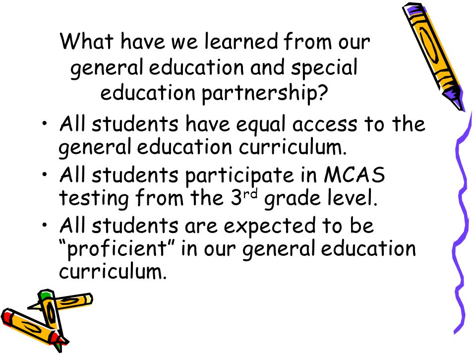 What Have We Learned About Special >> Robert M Belmont Jr Director Of Special Services Ppt Download