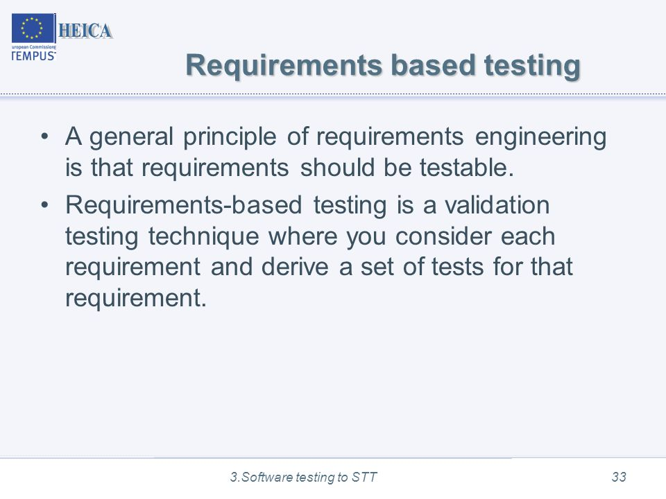 Software Testing Techniques Software Testing Ppt Download - Software testing requirements