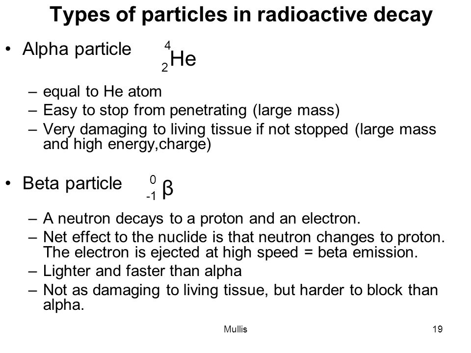 radioactive decay easy