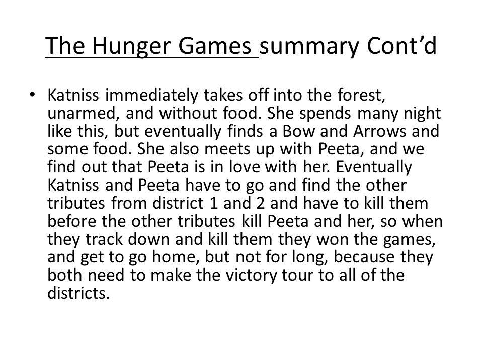 hunger games spoiler