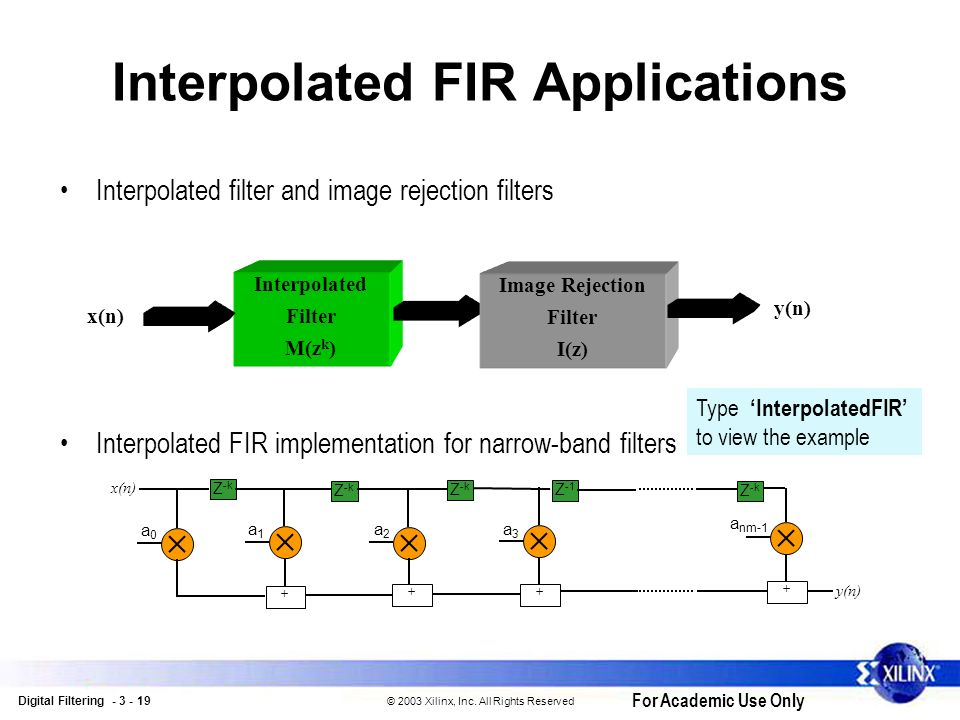 Digital Filtering  - ppt download