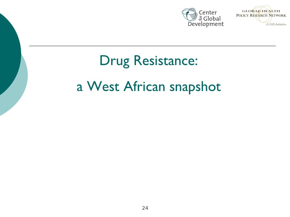 a West African snapshot