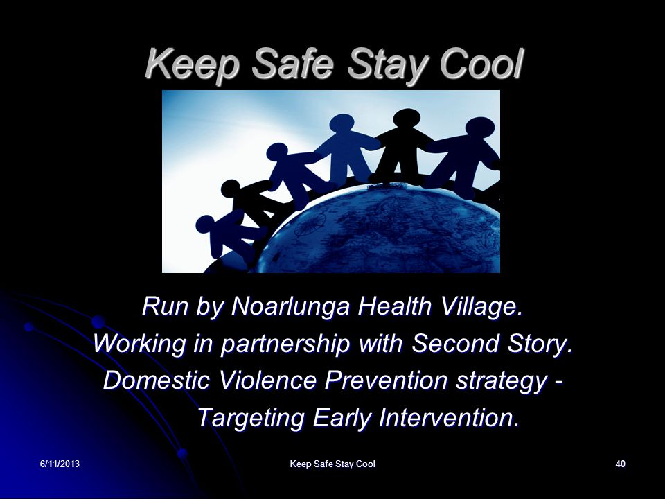 Keep Safe Stay Cool Run by Noarlunga Health Village.