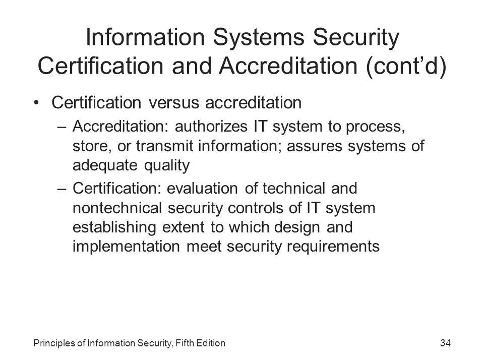 Principles Of Information Security Fifth Edition Ppt Download