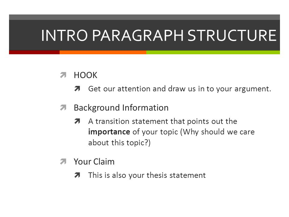 Parts of the argument essay include ppt video online download