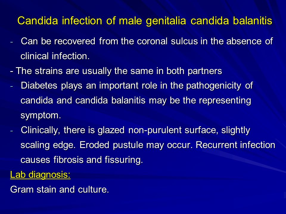 Balanitis sexually transmitted infections ppt
